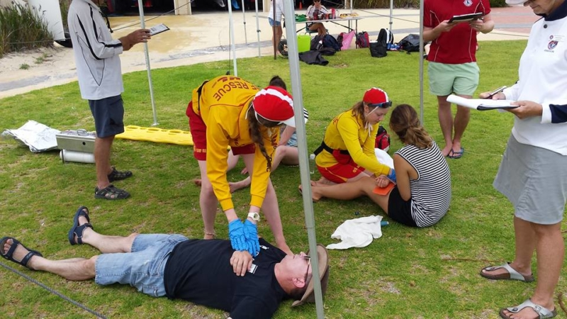 first aid competition