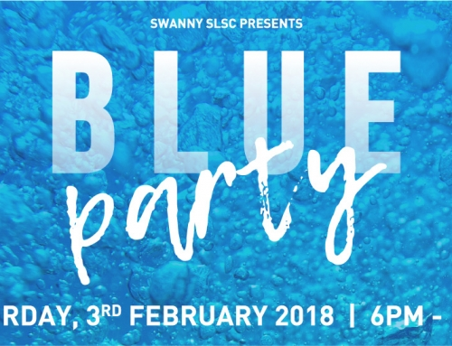 Get BLUE at Blue Party 2018