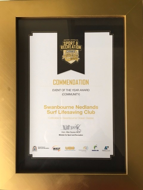 DSR Commendation Swanny Ocean Classic