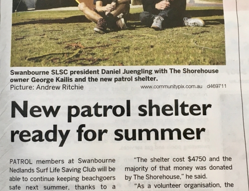 New patrol shelter ready for summer