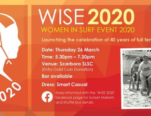 Celebrating 40 years of Women in Surf